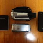 モバイルバッテリーでビデオカメラを充電する方法